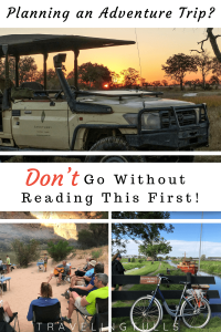 Don't go on an outdoor adventure without reading this first!