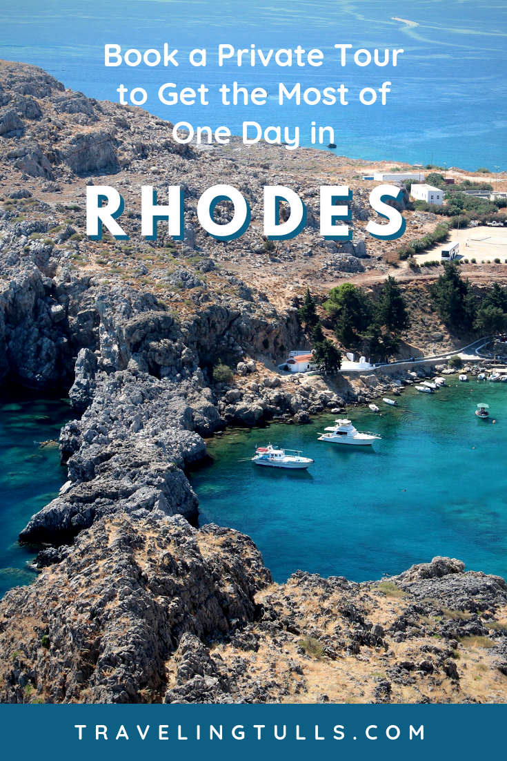 Book a private shore excursion to make the most of one day in Rhodes and London's