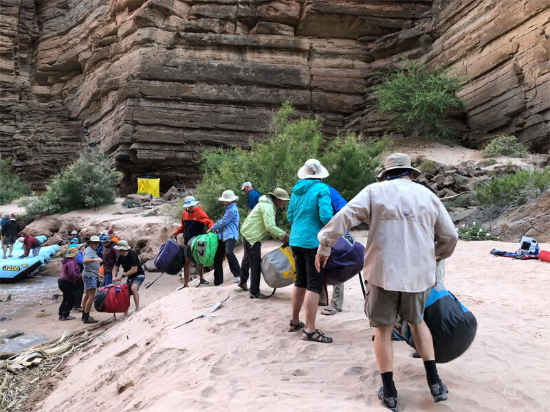 Don't bring nice luggage. Secrets for outdoor travel adventures