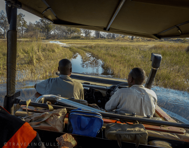 Adventures on Safari, roads under water