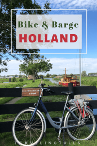 Bike and Barge Holland, exploring the Netherlands on a cycling tour.