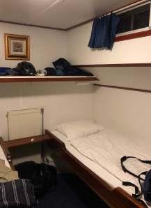 Bike and Barge Holland - average room on a Comfort level barge