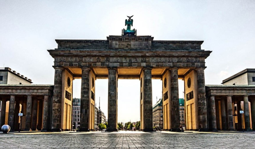 Brandenburg Gate, Berlin. One of the easiest cities to visit in Europe