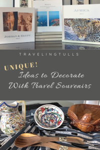 How to make a travel photo book and other ideas for decorating with travel souvenirs