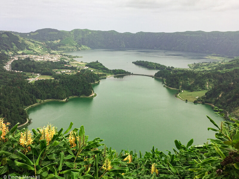 Caldeira das Setes Cicades in the Azores, a perfect destination to explore in your 60s.