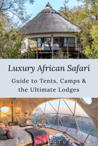 Luxury African Safari camps, tents and the ultimate lodges. What to expect when booking luxury accommodations for your safari.