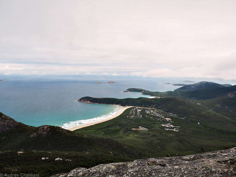 Wilson's Promontory in Australia, a great destination for recently retired adventurers.