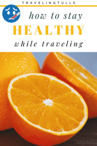 How to stay healthy while traveling. Suggestions to keep you feeling well on a long trip, especially for older adults.