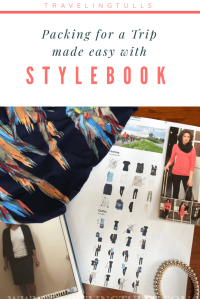 Packing for a trip with the #stylebook app makes your trip prep easy. Use an app to organize your #travelwardrobe
