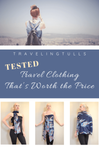 Travel clothing worth the price. What clothes for women really make a difference in your packing.
