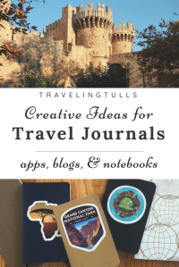 Rhodes castle and travel journal. Tips for creating a travel diary you will enjoy using.