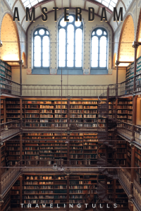 The library in the Rijksmuseum, one of the Must dos in Amsterdam in the Netherlands. #librariesoftheworld #mustseeAmsterdam