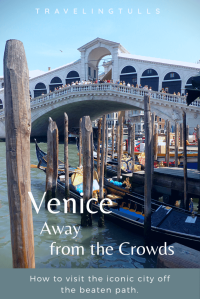 How to enjoy Venice away from the crowds. Get away from St. Mark's Square and explore the neighborhoods.