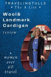 Merino Wool Landmark Cardigan review. Pin for later