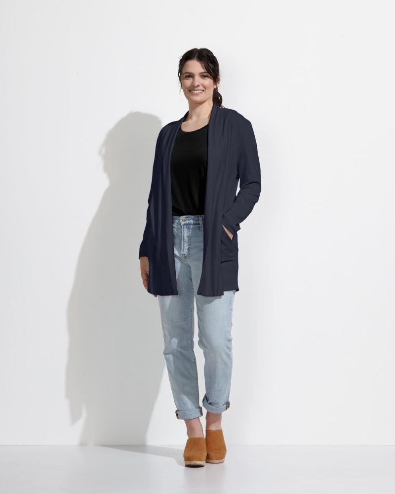 Photo of Wool& Landmark Cardigan from website.