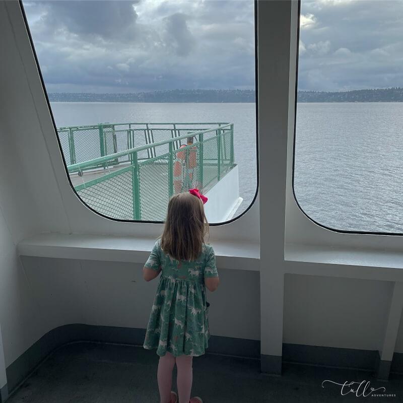 Washington State Ferry from Vashon Island to Seattle