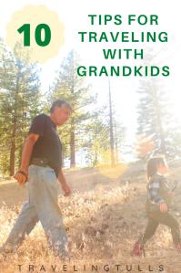 Tips for multigenerational travel. Travel with grandchildren. #roadtrips #familyvacation #multigenerationaltravel #traveltips #grandparentgrandchildren